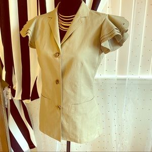 Michael Kors Collection sleeveless jacket
